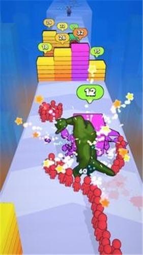 怪物进化奔跑(3)