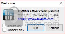 hwinfo64中文版(系统信息检测工具)