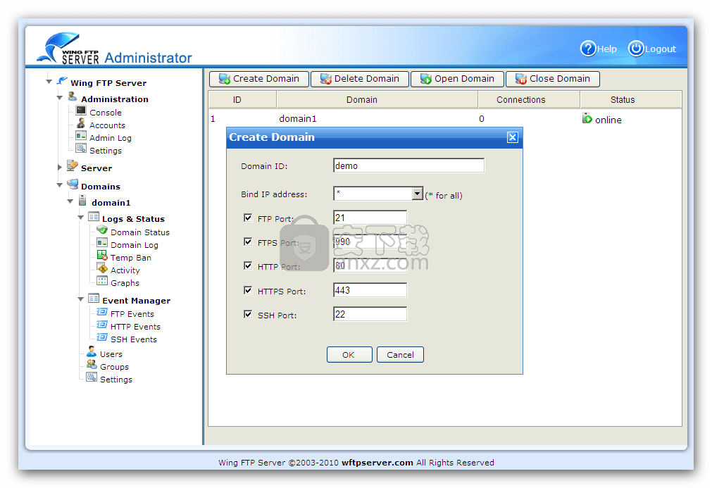 Wing FTP Server