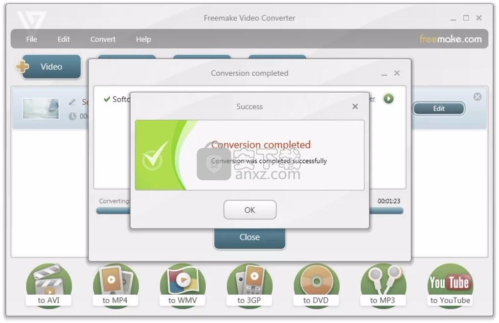 视频转码 Freemake Video Converter