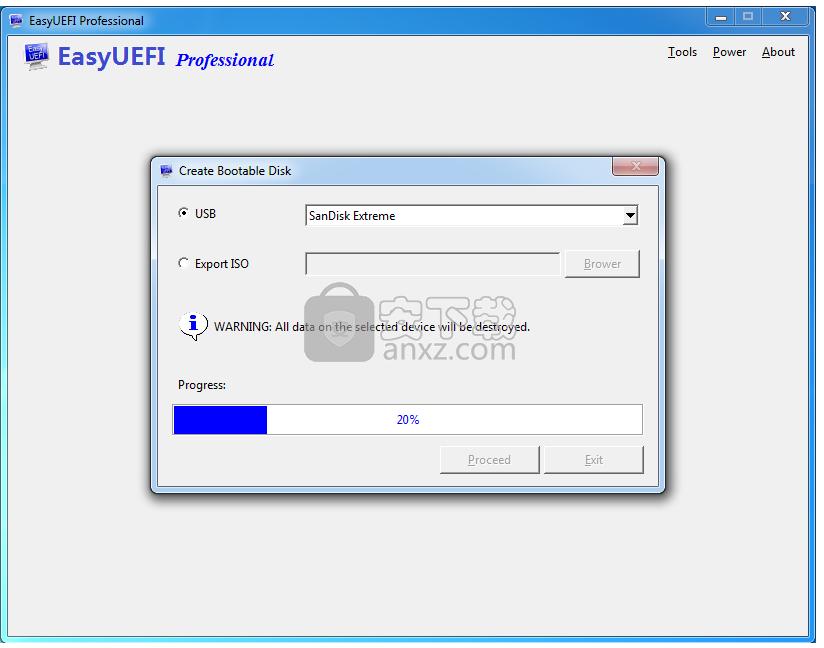 easyuefi(EFI/UEFI启动项管理工具)