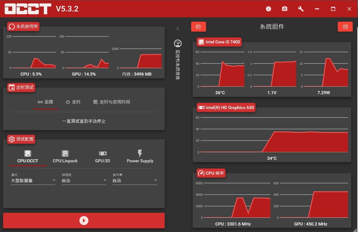 OCCT(电源检测软件)