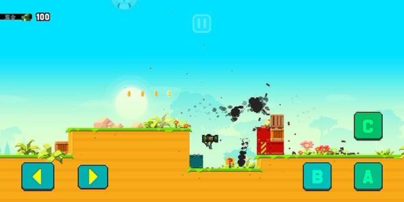 蘑菇岛的枪战(3)