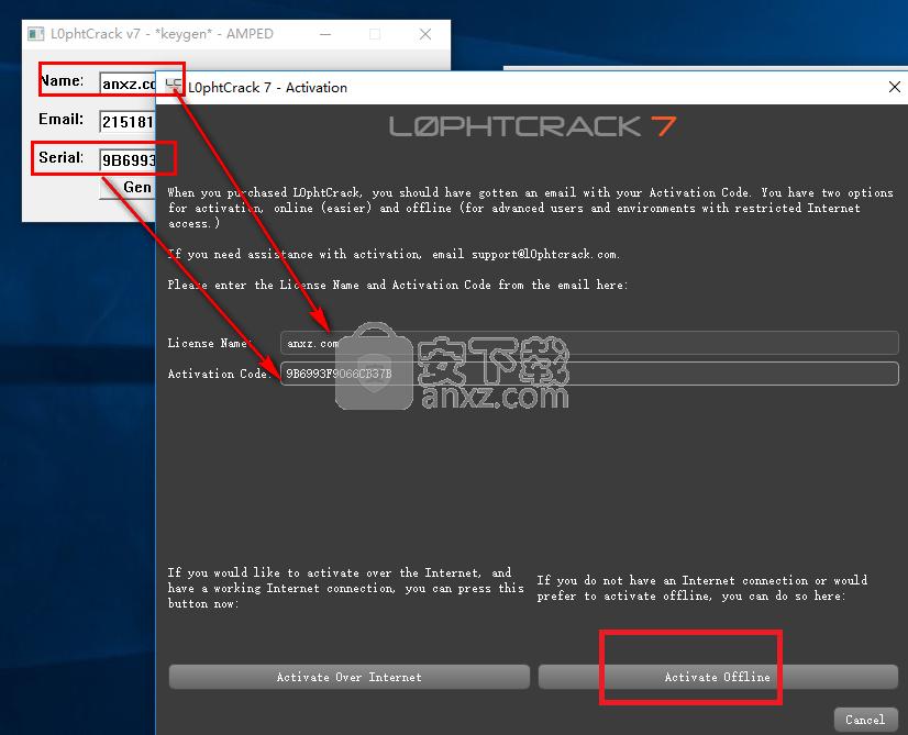 L0phtCrack 7(计算机密码解析工具)