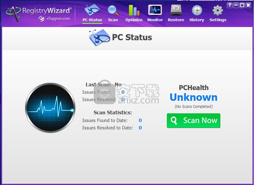 RegistryWizard(注册表错误修复工具)