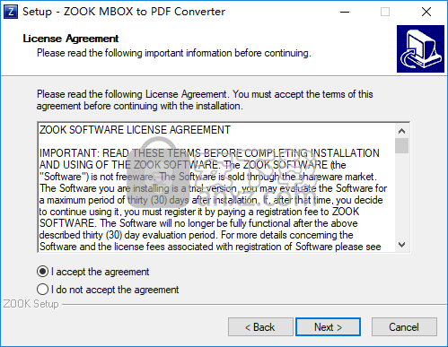 ZOOK MBOX to PDF Converter(MBOX转PDF文件工具)