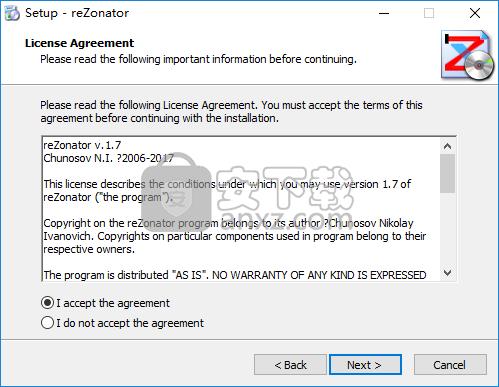 reZonator下载(模拟高斯光束传输软件)