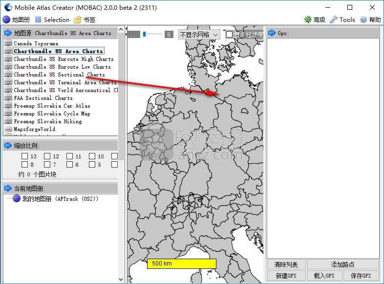 Mobile Atlas Creator(离线地图制作)