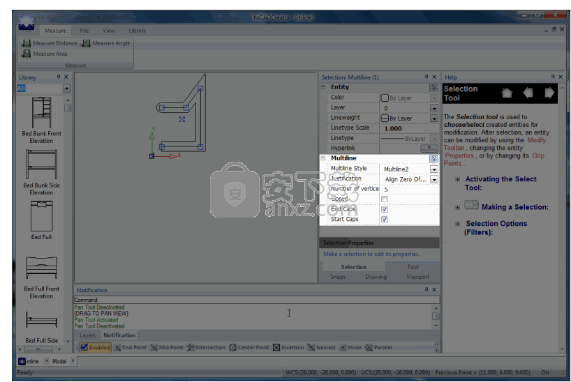 hsCADCreator(cad设计软件)