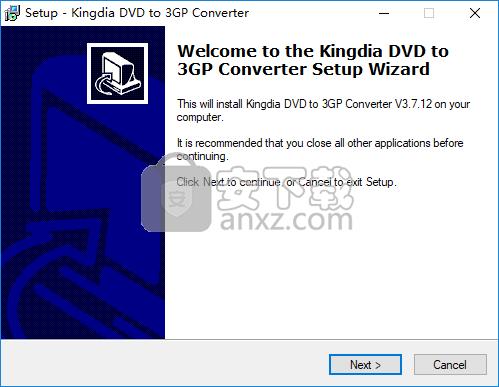 Kingdia DVD to 3GP Converter(DVD转3GP视频格式转换器)