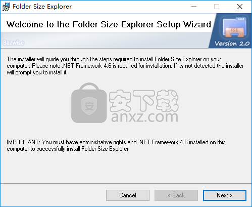 Folder Size Explorer(文件夹大小查看软件)