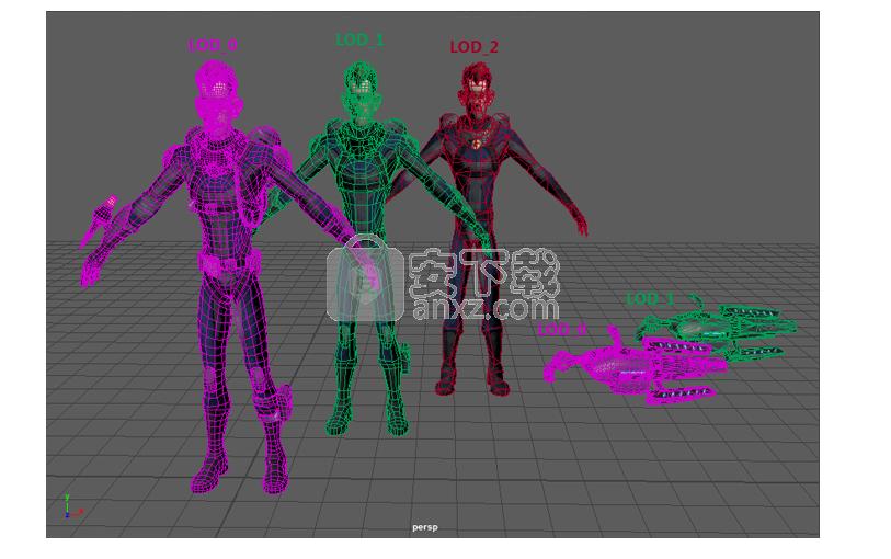 Maya LT 2020中文破解版(3D游戏开发软件)