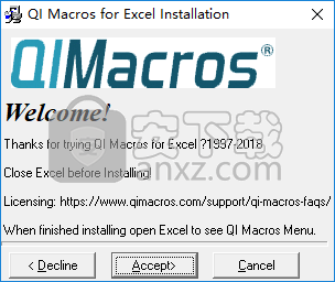 QI Macros for Excel(QI宏)