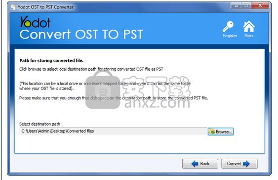 Yodot OST to PST Converter(OST转PST转换器)