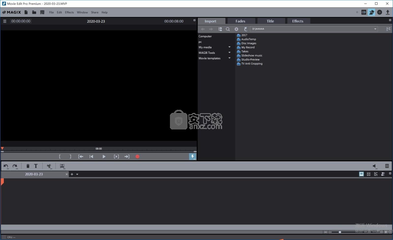 MAGIX Movie Edit Pro 2017破解版