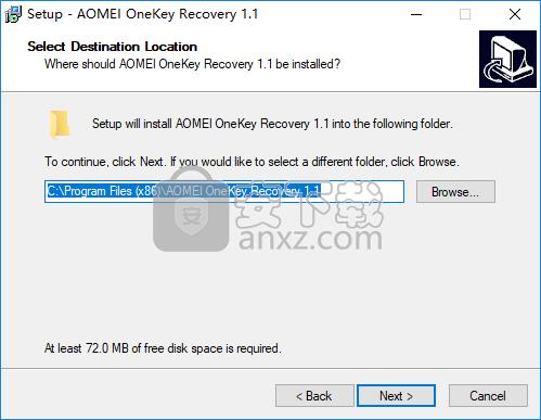 AOMEI OneKey Recovery(傲梅一键恢复)