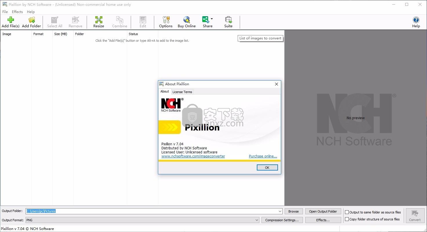Pixillion Image Converter(Pixillion图像转换器软件)