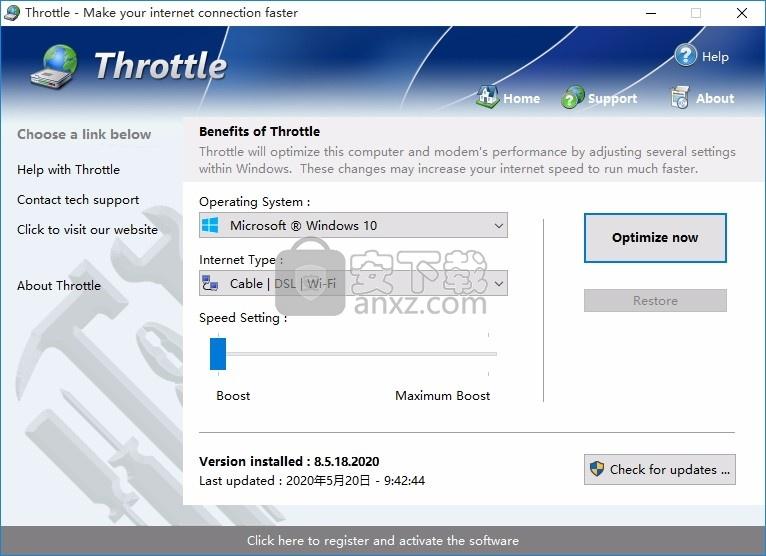 Throttle(文件下载加速工具)