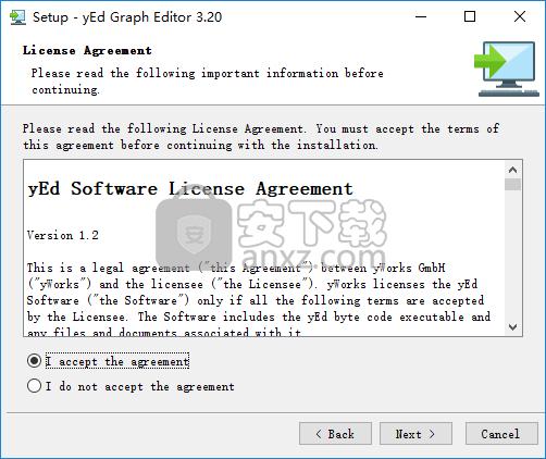 免费流程图软件(yEd Graph Editor)
