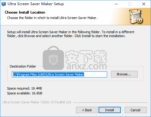 Ultra Screen Saver Maker(屏保制作软件)
