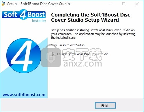 Soft4Boost Disc Cover Studio(光盘封面设计工具)