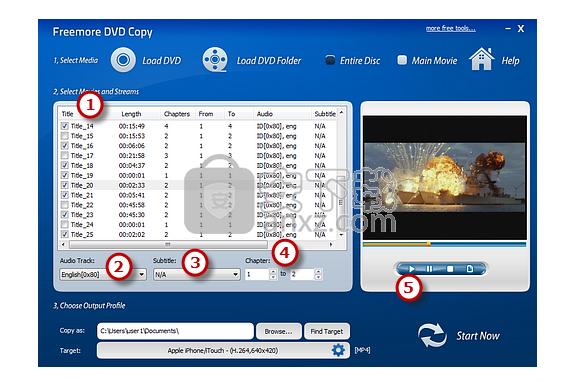 Freemore DVD  Copy(dvd光盘复制软件)