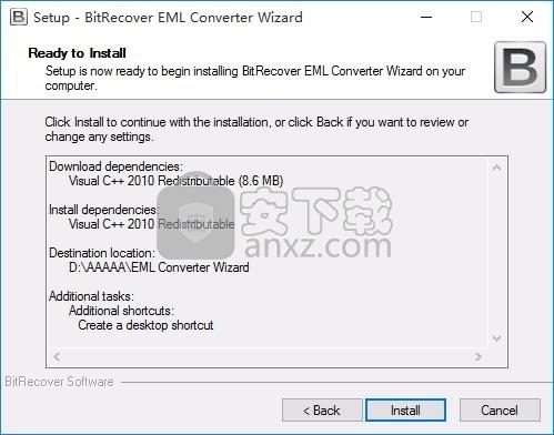 BitRecover EML Converter Wizard破解版(eml文件转换器)
