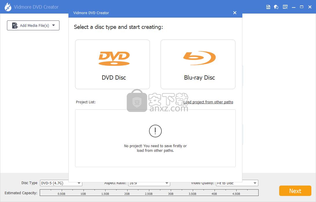 Vidmore DVD Creator(DVD刻录工具)