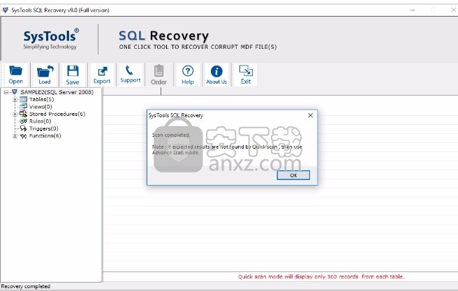 SysTools SQL Recovery下载