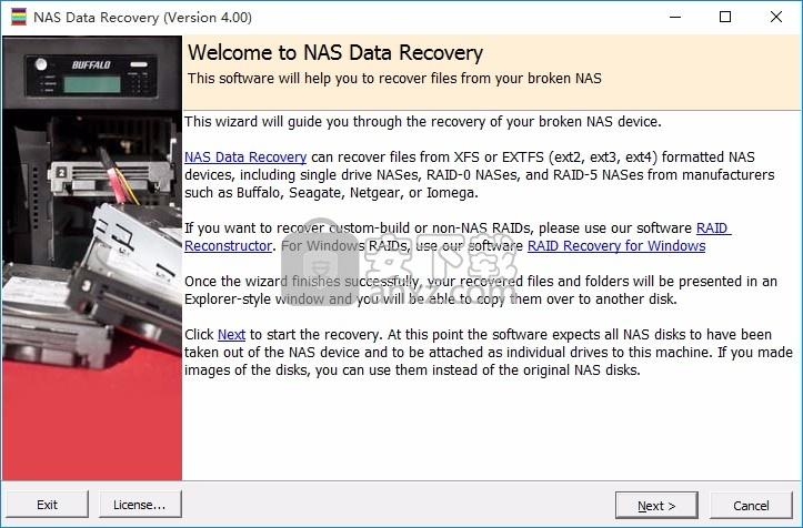 NAS Data Recovery(NAS数据恢复工具)
