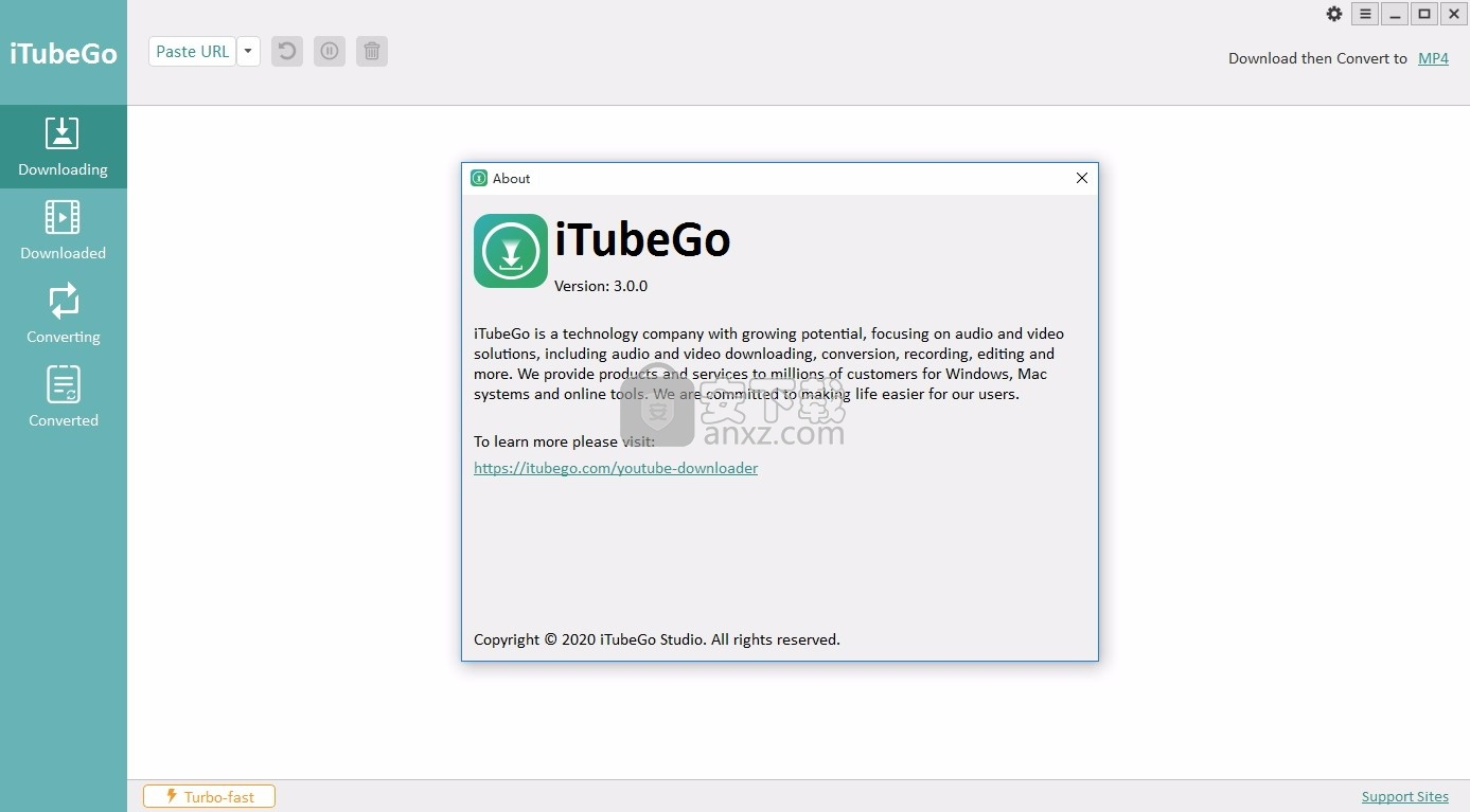 iTubeGo YouTube Downloader(音视频下载工具)