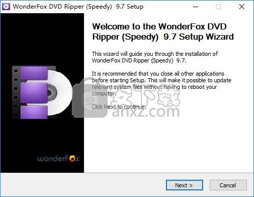 WonderFox DVD Ripper Speedy(DVD翻录工具)