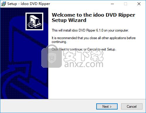 idoo DVD Ripper(DVD翻录工具)