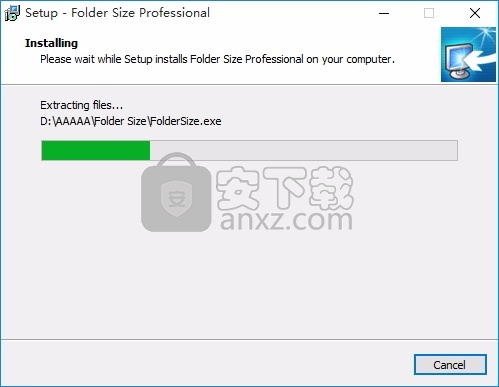 Folder Size Professional(磁盘文件扫描与分析工具)