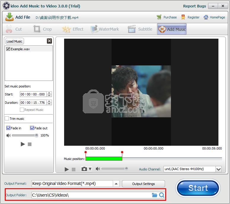 idoo Add Music to Video(视频添加音乐软件)
