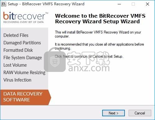 BitRecover VMFS Recovery Wizard(VMFS恢复工具)
