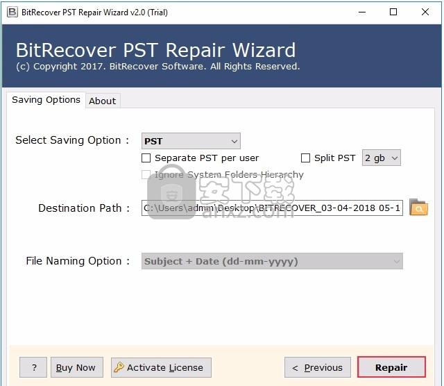PST Repair Wizard(PST文件修复与恢复工具)