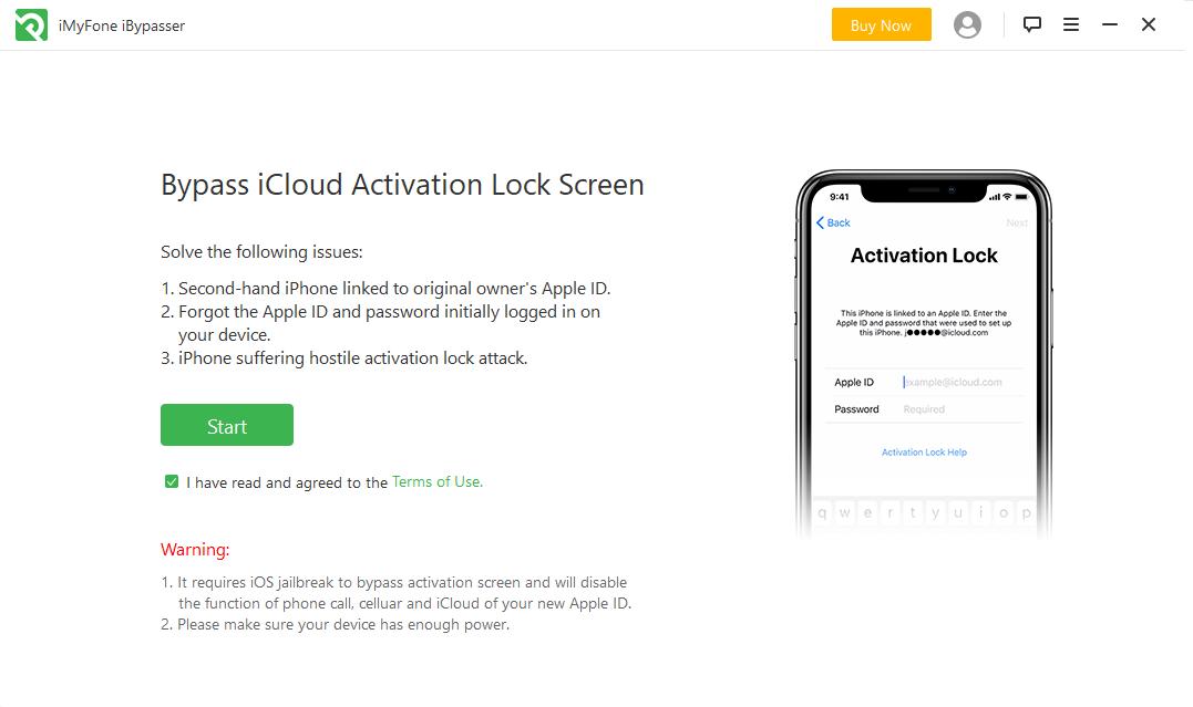 iMyFone iBypasser(iCloud激活锁绕过工具)