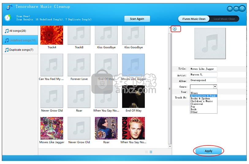 Tenorshare Music Cleanup(iTunes音乐管理工具)