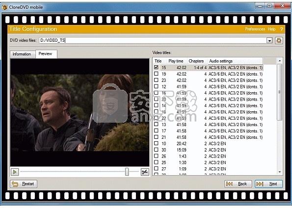 CloneDVD mobile(DVD电影格式转换工具)