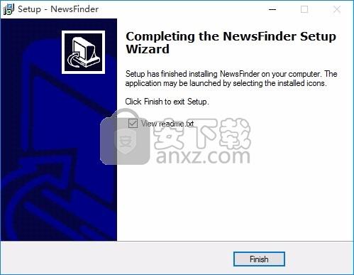 NewsFinder(公共新闻服务器访问工具)