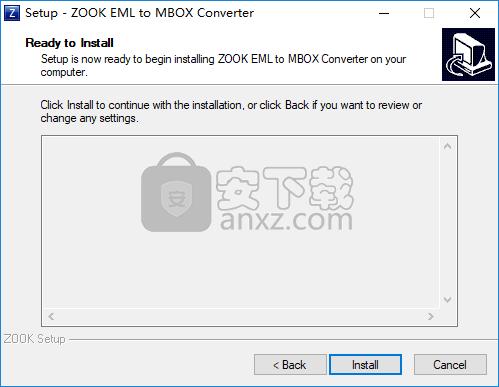 ZOOK EML to MBOX Converter(EML转MBOX工具)