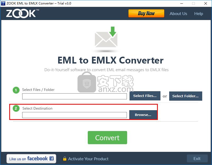 ZOOK EML to EMLX Converter(EML转EMLX转换器)