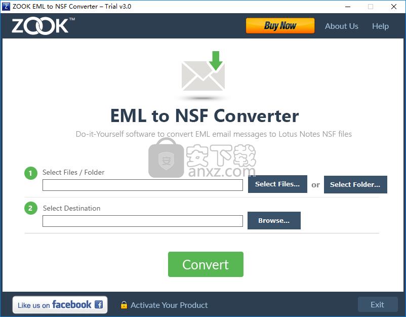 ZOOK EML to NSF Converter(EML转NSF转换器)