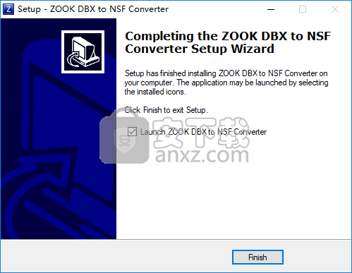 ZOOK DBX to NSF Converter(DBX转NSF工具)
