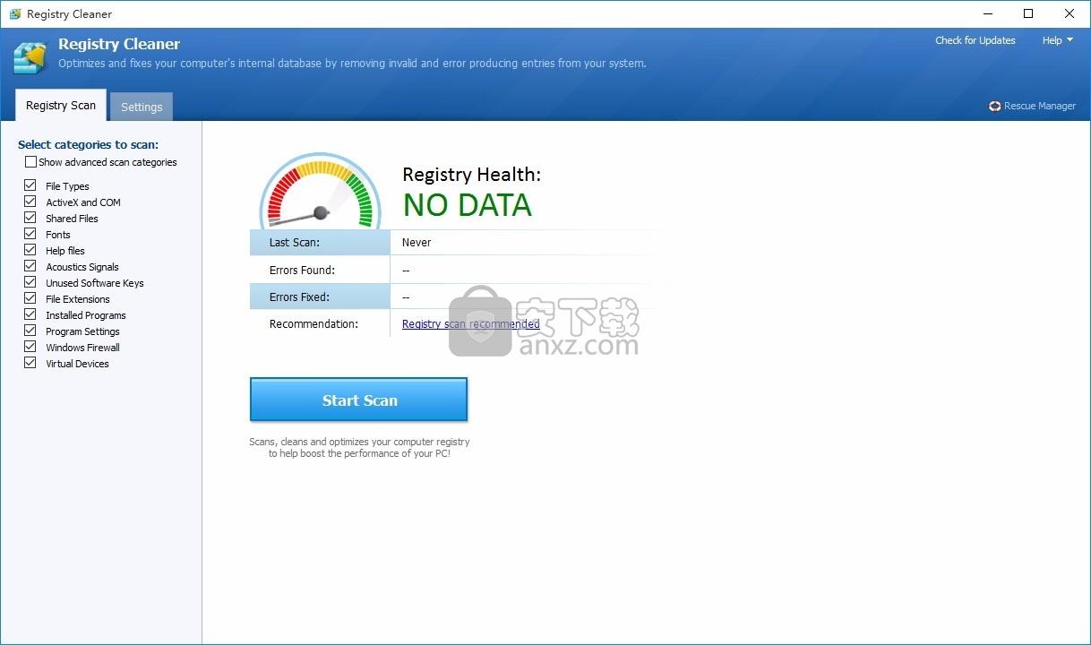 Registry Cleaner 4(注册表清理器)