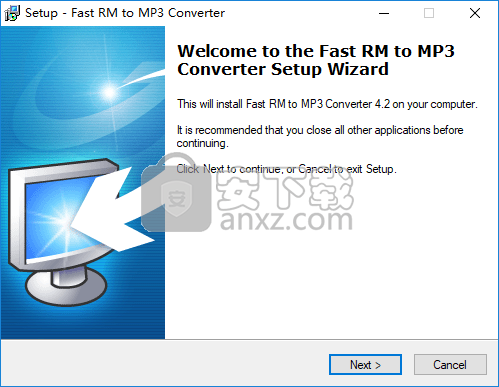 Fast RM to MP3 Converter(RM转MP3工具)