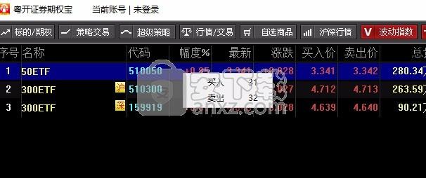 粤开证券期权宝
