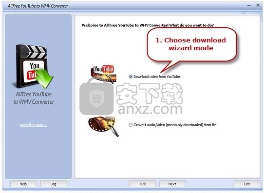 YouTube to WMV Converter(YouTube至WMV转换器)