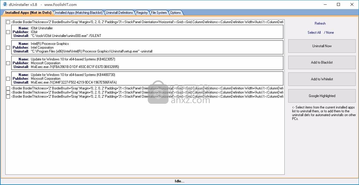 dUninstaller(自动应用程序卸载工具)